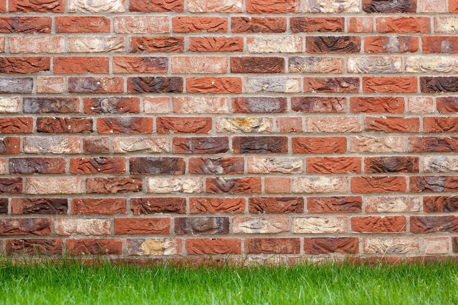 patronen doorbreken gemetselde muur